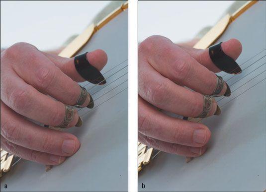 ���� - O Debate Grande Banjo: Uma âncora dedo ou dois?
