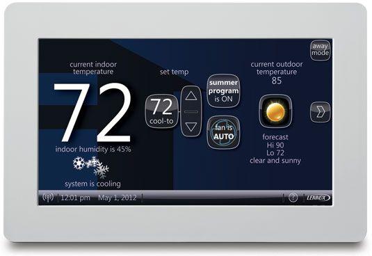���� - O Lennox iComfort inteligente termostato