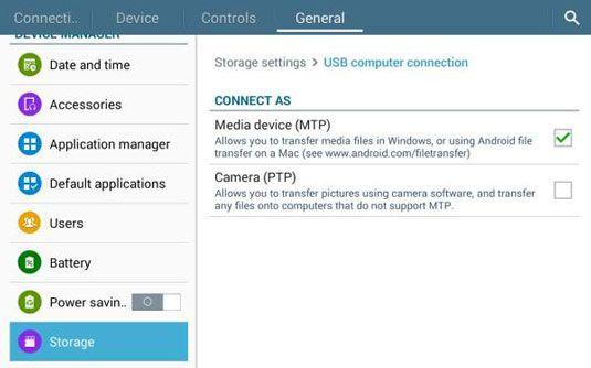 ���� - A conexão USB para o seu Galaxy Tab 4 NOOK