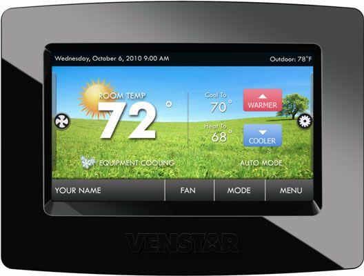 ���� - O Venstar ColorTouch inteligente termostato