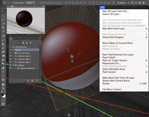 ���� - Trabalhar com arte 3D no Photoshop CC