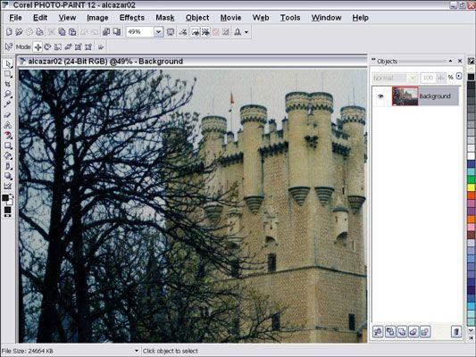 ���� - Trabalhando em seu Digital Imagens com Corel Photo-Paint