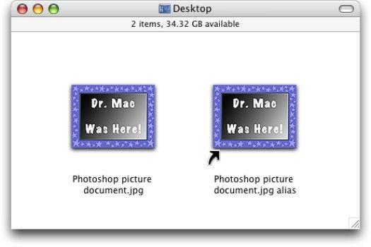 ���� - Trabalhando com Aliases no Mac OS X