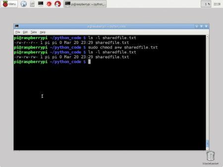���� - Trabalhando com permissões de arquivo em seu Raspberry Pi