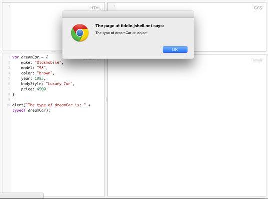 ���� - Trabalhando com objetos javascript