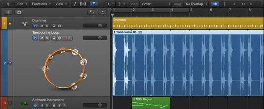 ���� - Zooming Tracks em Logic Pro X